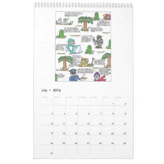 Calendario divertido 2016 de las citas