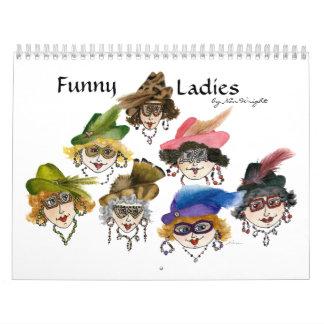 Calendario divertido de las señoras