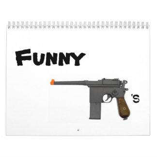 Calendario divertido de los armas