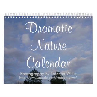 Calendario dramático 2009 de la naturaleza