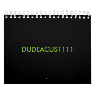 Calendario DUDEACUS1111