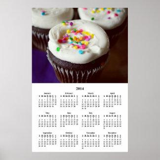 Calendario dulce 2014 de la tentación de la magdal poster