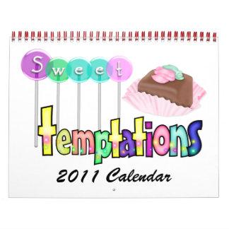 Calendario dulce 2 de las tentaciones