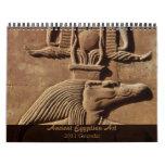 Calendario egipcio antiguo del arte 2011