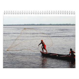 Calendario, el río Amazonas Calendarios De Pared