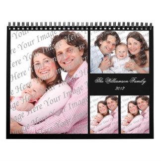 Calendario elegante de la cartera 2012