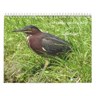 Calendario emplumado de los amigos 2011