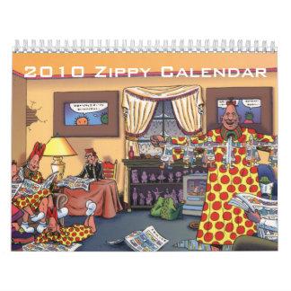 Calendario enérgico 2010