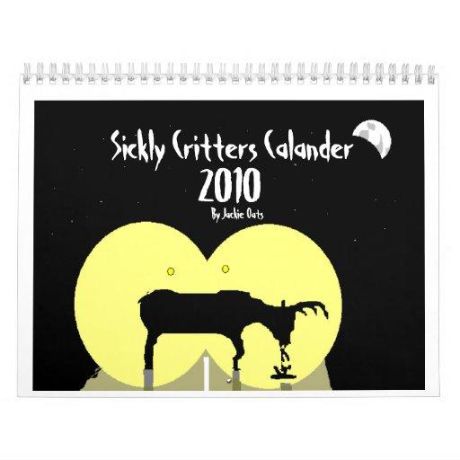 Calendario enfermizo de los Critters (2010)