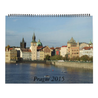 Calendario enorme de Praga 2015