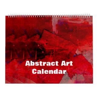 Calendario enorme del arte abstracto 2017