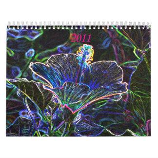 Calendario enrrollado 2011