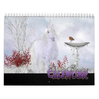 Calendario equino elegante 2014