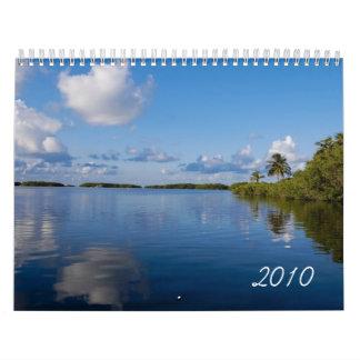 Calendario escénico