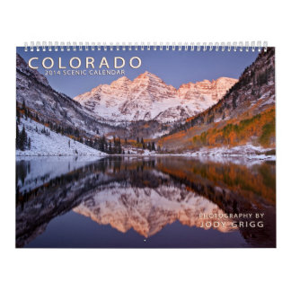 Calendario escénico 2014 de Colorado