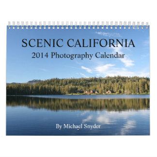 Calendario escénico de 2014 California