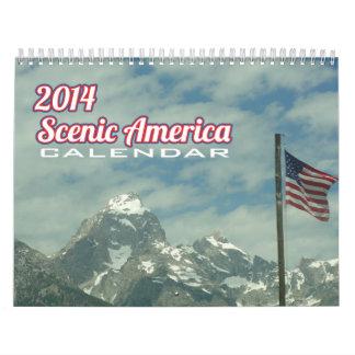 Calendario escénico de América