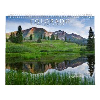 Calendario escénico de Colorado 2015