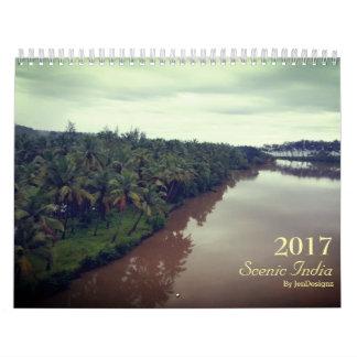 Calendario escénico de la India 2017