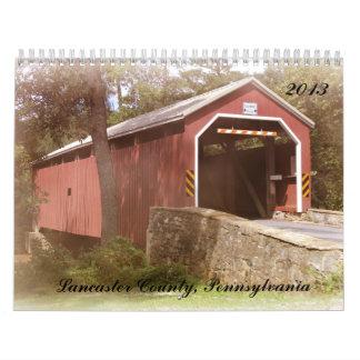 Calendario escénico de Lancaster, Pennsylvania