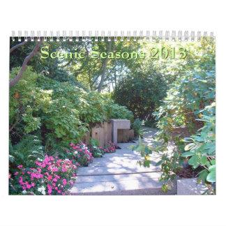 Calendario escénico de las estaciones 2013