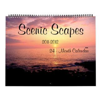 Calendario escénico de Scapes 2011-2012