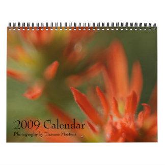 Calendario escénico de Utah 2009