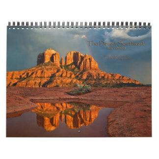 Calendario escénico del sudoeste 2011 del desierto