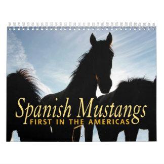 Calendario español del mustango