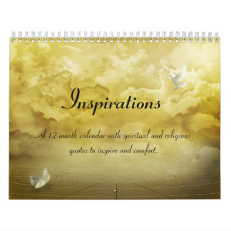 Calendario espiritual de la cita de las