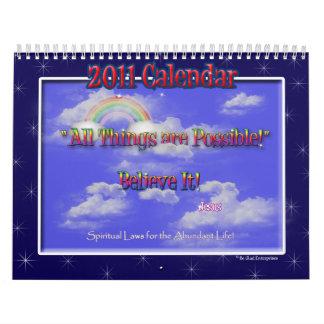 Calendario espiritual de las leyes