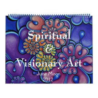 Calendario espiritual y visionario 2012 del arte