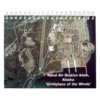 Calendario - estación aérea naval Adak, Alaska