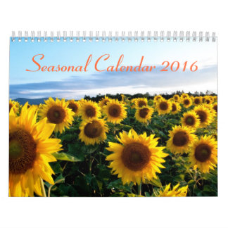 Calendario estacional 2016