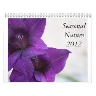 Calendario estacional de la naturaleza 2012