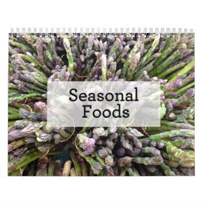 Calendario estacional de las comidas 2014