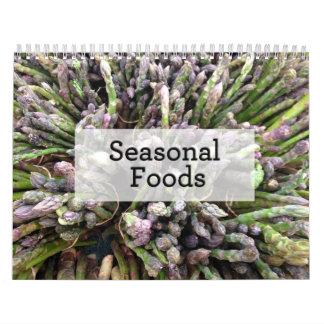 Calendario estacional de las comidas 2015