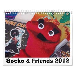 Calendario estupendo y de los amigos 2012