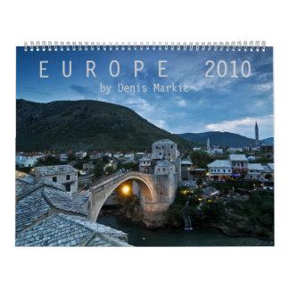 Calendario Europa 2010
