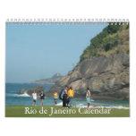 Calendario exclusivo de las imágenes de Río de