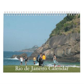 Calendario exclusivo de las imágenes de Río de Jan