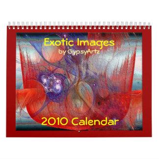 Calendario exótico de las imágenes 2010