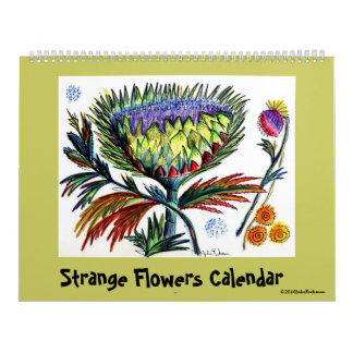 Calendario extraño de las flores