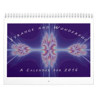 Calendario extraño y maravilloso