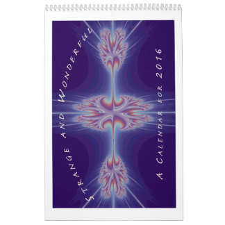 Calendario extraño y maravilloso del fractal