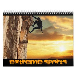 Calendario extremo de los deportes