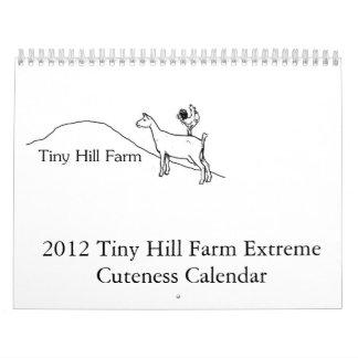 Calendario extremo del Cuteness de la granja
