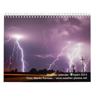 Calendario extremo del tiempo 2013