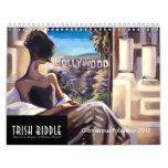 Calendario fabuloso atractivo 2012 de Trish Biddle