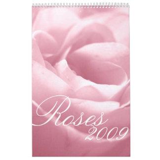 Calendario fabuloso de los rosas 2009